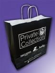 private collecttion /שקית נייר ידית מגולגלת